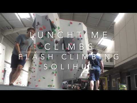 Lunchtime Climbs - Flash Climbing Centre