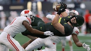 Wisconsin vs Oregon Full Game - 2020 Rose Bowl | College Football 1/1/2020 | Madden College Mod