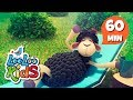 Baa, Baa, Black Sheep - Amazing Educational Songs for Children | LooLoo Kids