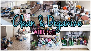 Clean & Organize With Me//Time Lapse Clean With Me//Real Home Real Life Cleaning Motivation