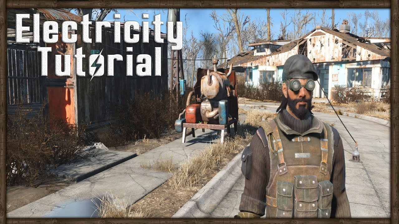 Fallout 4 Power Tutorial How To Your Home With Electricity Electrical Wiring Installation In A Multistory Building