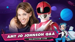 Mighty Morphin Power Rangers Live Stream Q&A with Amy Jo Johnson YouTube Videos