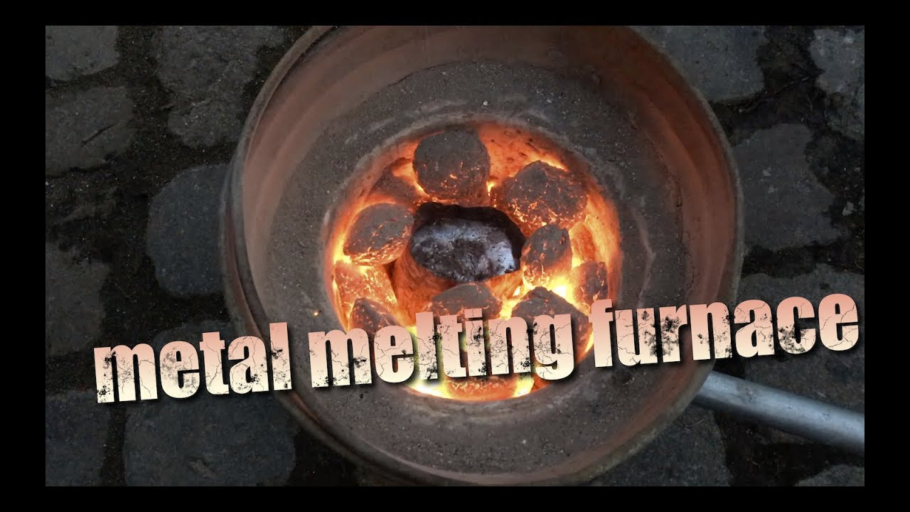 Diy Metal Furnace : How to make a metal melting furnace foundry youtube