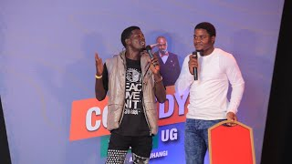 Alex Muhangi Comedy Store March 2020 - Maulana & Reign