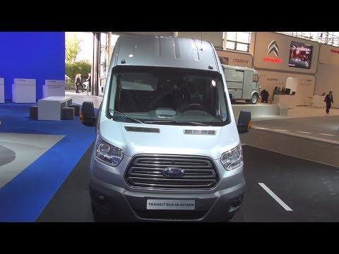 Ford Transit 18-seat Bus (2015) Exterior and Interior