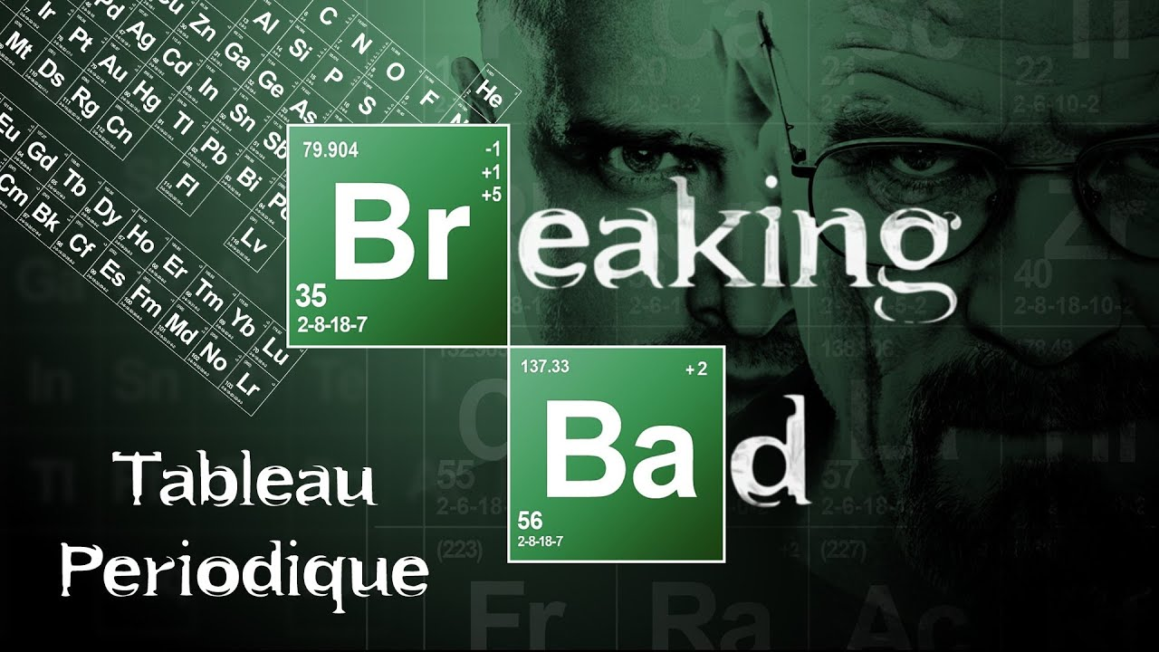 G n rique breaking bad tableau p riodique youtube for Tableau periodique