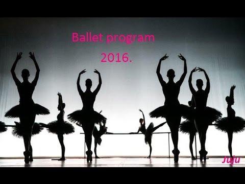 Ballet program 2016. Juju