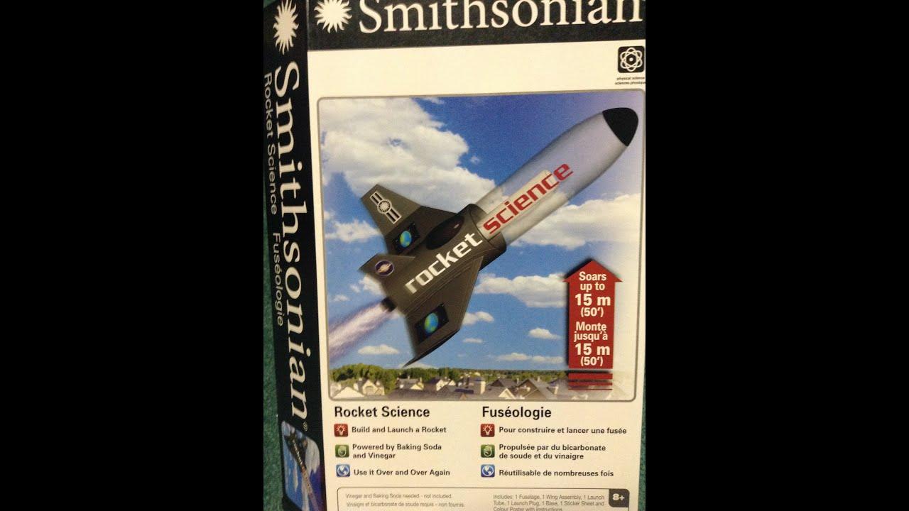 Smithsonian Rocket Experiment Youtube