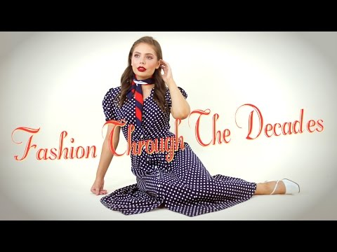 Fashion Trends Through the Decades 50's - 90's
