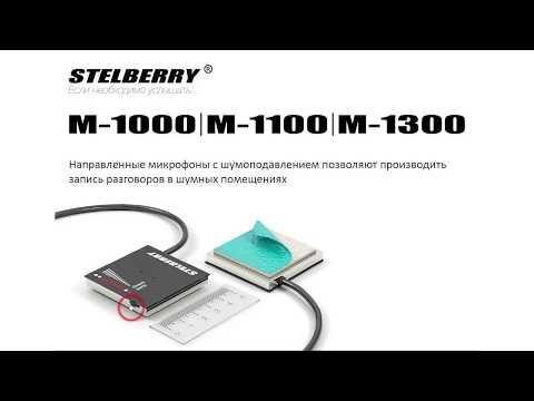 видео: Микрофоны stelberry для видеонаблюдения Часть1