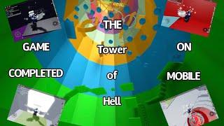 (Roblox) Un registro increíble: la torre de HELL BEATEN en mobile!!! 150 SECCIONES
