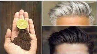 اقوي مكون للقضاء علي شيب الشعر يغفل عنه الجميع،بدون حناء اتخلص من الشعر الابيض فورا اقوي من السحر