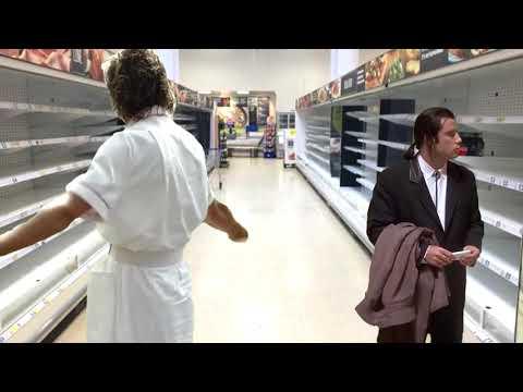 Coronavirus Where's The Toilet Paper? - The Joker Vincent Vega