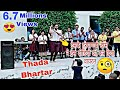 AJAY KAYAT DANCE Thada Bhartar How to Haryanvi girl  Dance Thada bhartar Spna Dance in school