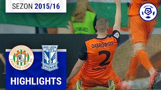 Zagłębie Lubin - Lech Poznań 3:0 [skrót] sezon 2015/16 kolejka 36