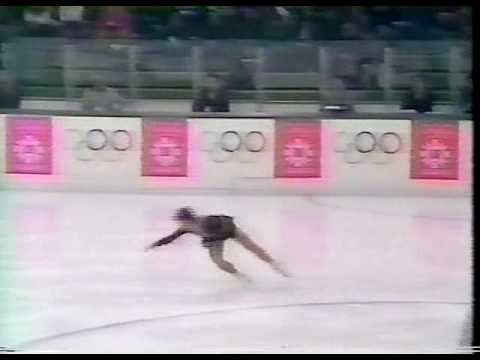 Kira Ivanova (URS) - 1984 Sarajevo, Figure Skating, Ladies' Short Program