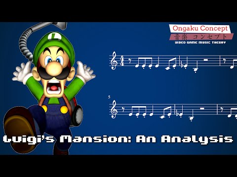 Luigi's Mansion Main Theme - An Analysis | Ongaku Concept: Video Game Music Theory