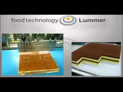 Ultraschallschneidemaschine / Ultrasonic cutter von Foodtechnology Lummer
