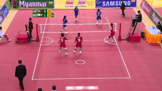 27th SEA GAMES MYANMAR 2013 - Sepak Tekraw 14/12/13