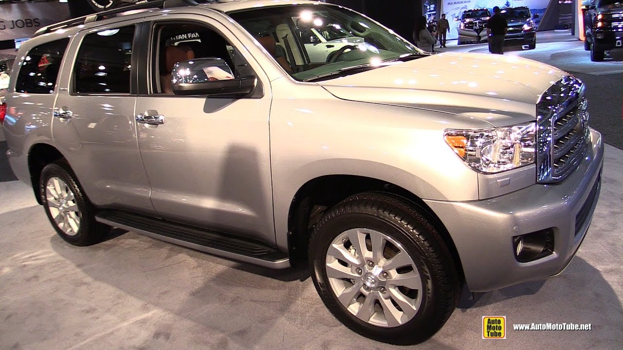 2017 Toyota Sequoia Platinum Exterior And Interior Walkaround Ny Auto Show