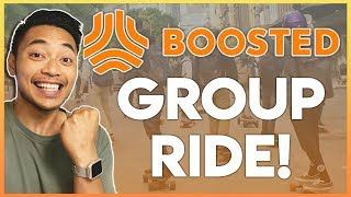 The BIGGEST NYC Boosted Board Group Ride! (Boosted Mini, Mini X, and Stealth)