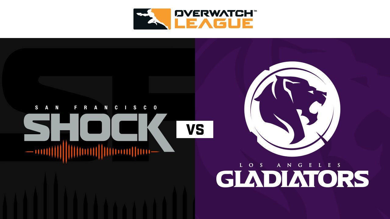 The Overwatch League Match Detail Page