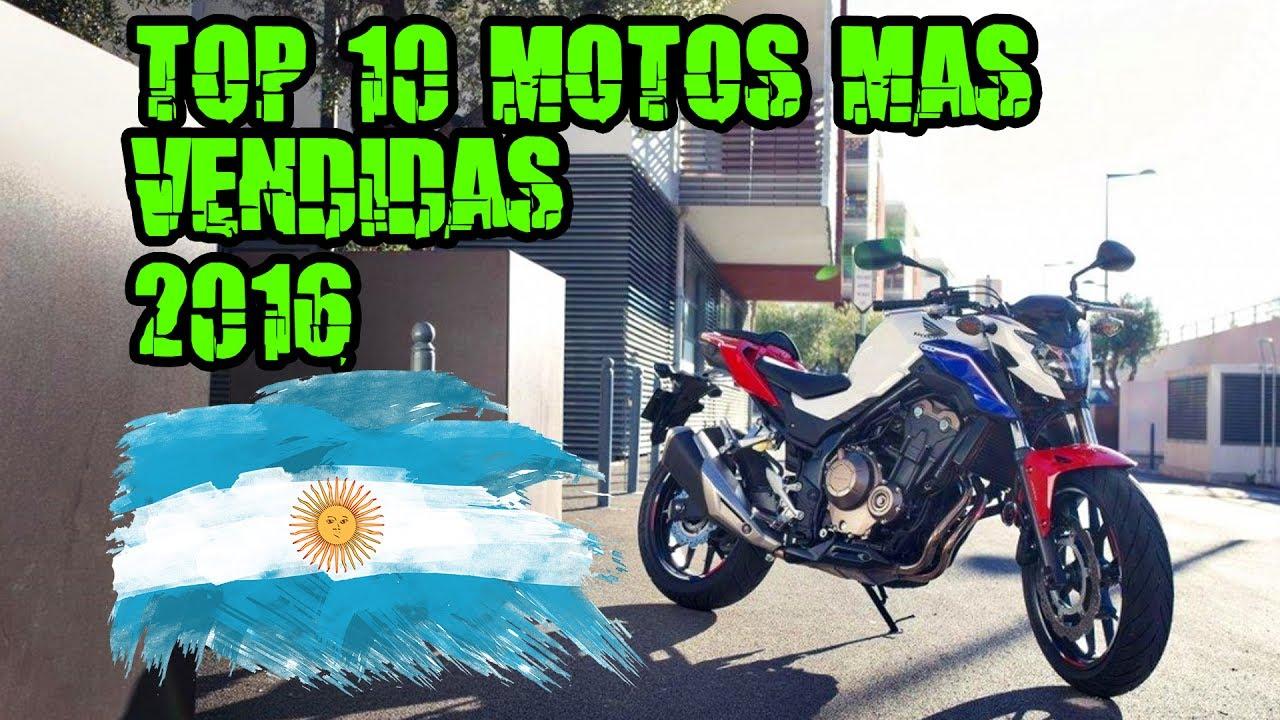 TOP 10 Motos Naked mais Vendidas 2016 - YouTube
