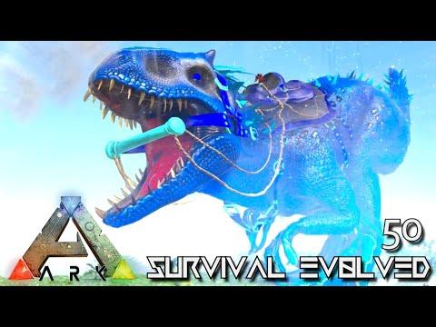 ARK: SURVIVAL EVOLVED - CELESTIAL INDOMINUS REX EMPEROR !!! | PRIMAL FEAR ISO CRYSTAL ISLES E50
