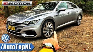 VW Arteon R Line 2.0 TSI 4Motion 280HP REVIEW POV Test Drive by AutoTopNL