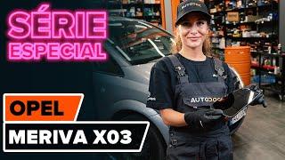 Manutenção Opel Meriva x03 - guia vídeo
