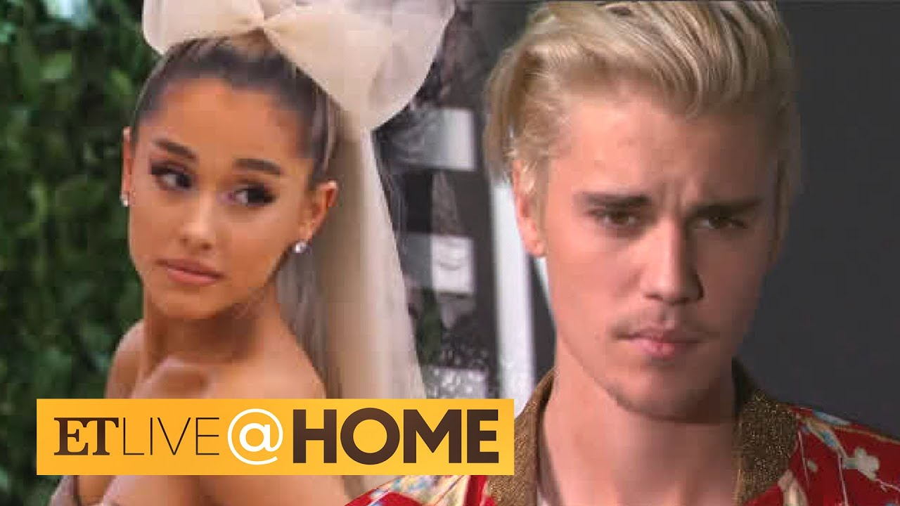 Justin Bieber and Ariana Grande Collab for a Cause | ET Live @ Home