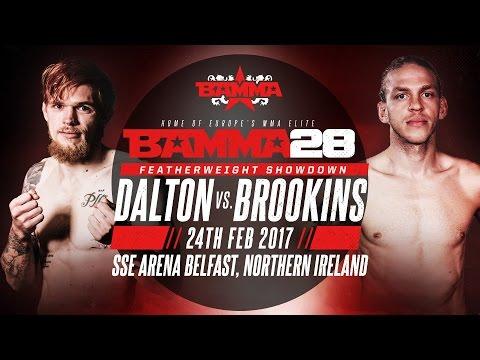BAMMA 28: Decky Dalton vs Jonathan Brookins