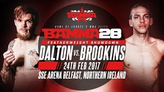 BAMMA 28 - Decky Dalton vs Jonathan Brookins