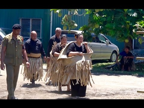 Ha'amo - HM King Tupou VI - 'Ahau Estate - Royal Presentation - Mapu-'a-Fuiva & Mahinafekite