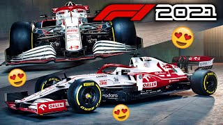The 2021 Alfa Romeo Racing C41 LOOKS AMAZING! New Nose, Front Wing & Brakes | Let's Talk F1 | aarava