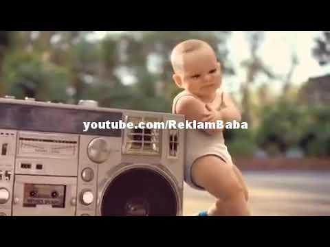 Erik dalı gevrektir bebek versiyonu ve reklamı