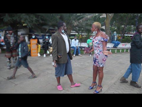 Download Drama in Nairobi CBD as Fikita  meets his crush
