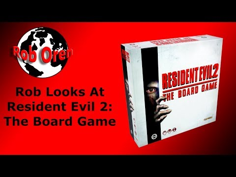 Resident Evil 2: The Board Game | Board Game | BoardGameGeek