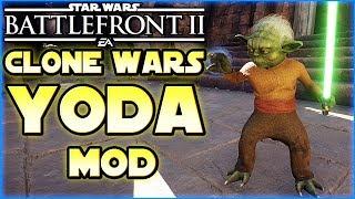 Umhangloser Yoda Skin - Star Wars Battlefront 2 - Mod / Mods deutsch Tombie