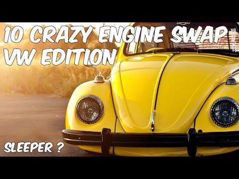 10 Crazy Engine Swaps *Volkswagen Edition*
