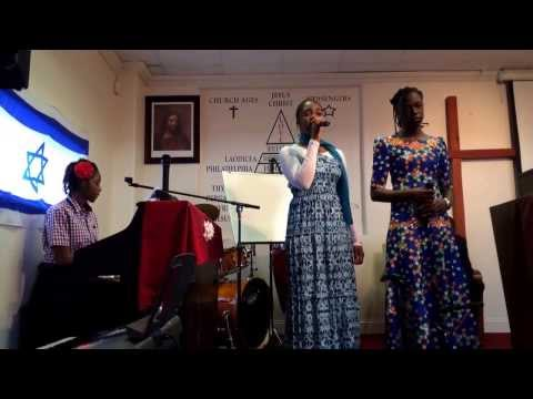 The Lukumwena stisters special song Denver,Colorado End Time Message Tabernacle