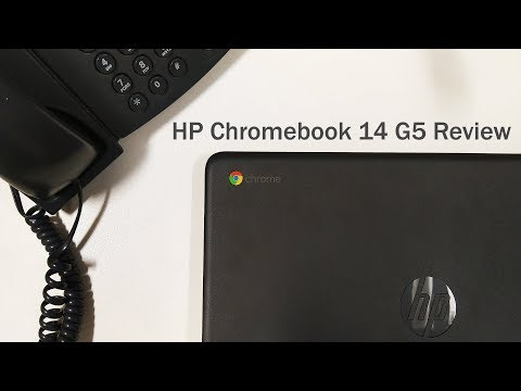 HP Chromebook 14 G5 Laptop Review (Chrome OS 2018)