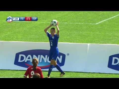 ITALY GIRLS VS SPAIN GIRLS - RANKING MATCH 5/6 - FULL MATCH - DANONE NATIONS CUP 2017
