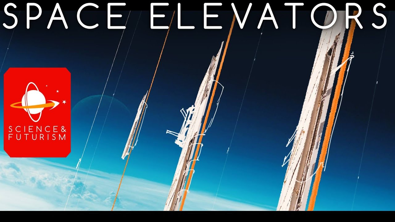 space elevator Can we build a 22000-mile-high cable to transport cargo and people into space.