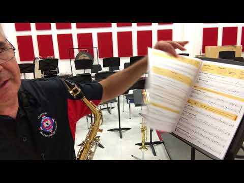 Beginning Saxophone Lesson #2