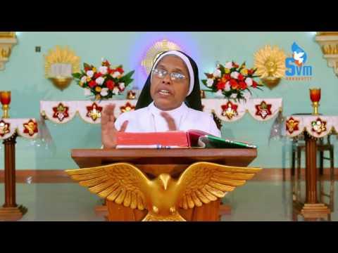 SVM - Spiritual Talk - എന്നെ തേടുന്ന ദൈവം -Sr.Deena CMC Provincial Superior