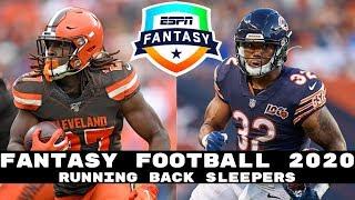 2020 Fantasy Football: Sleeper Running Backs (Late Round RBs)