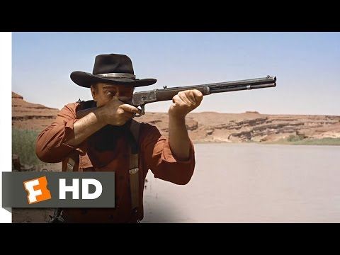 The Searchers (1956) - Cowboys vs. Indians Scene (4/10) | Movieclips