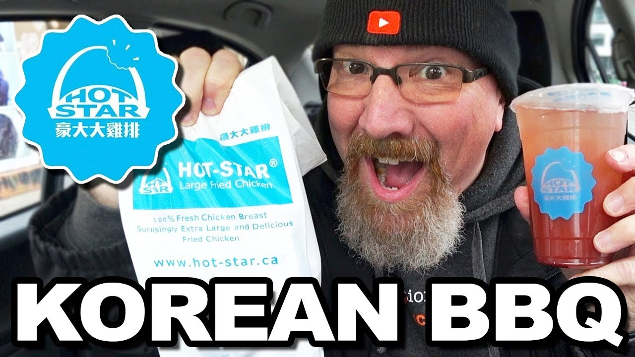 HOT STAR ????⭐???????? KOREAN LARGE FRIED CHICKEN????  Review