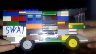 Обзор микроавтобуса из лего